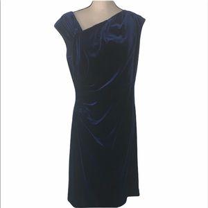 Ralph Lauren stretchy velvet like dresss
